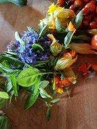 Groenten uit eigen tuin
