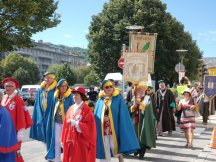 Processie of optocht in Le Puy en Velay