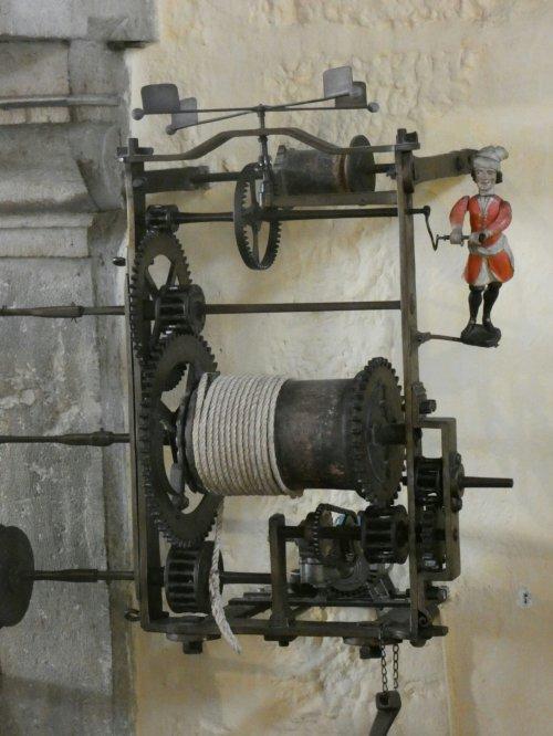 Volautomatische gril in hotel Dieu uit de 19e eeuw