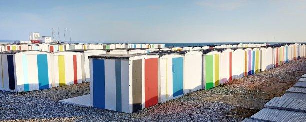Het strand van Le Havre