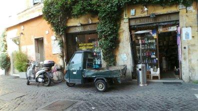 Dwalen door de straten van Rome
