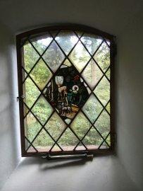 Prachtige glas-in-loodramen van Ben Hofstee