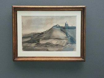 De net-ontdekte tekening van Van Gogh