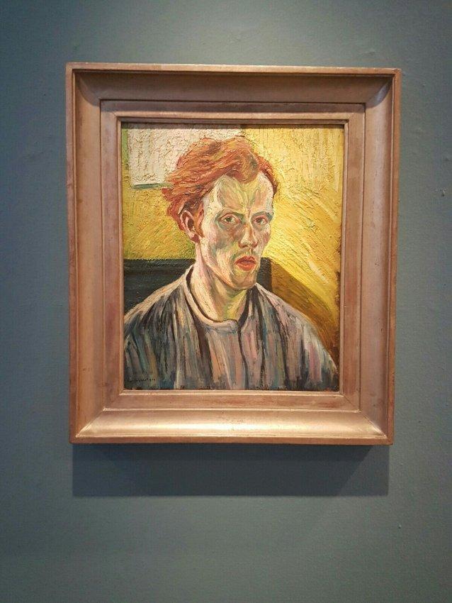 Zelfportret van Lodewijk Schelfhout