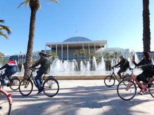 Valencia is een fietsstad