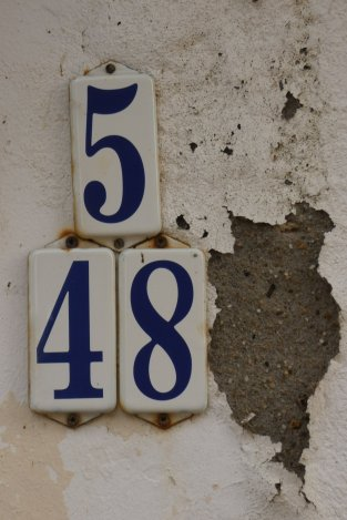 Wijk- en huisnummer