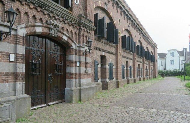 De Kazerne in Muiden