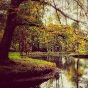 Bij kasteel Groeneveld in Baarn